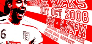 Teenage Kicks - 31st October, Hackney!