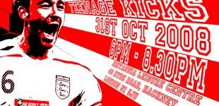 Teenage Kicks - 31st October, Hackney!